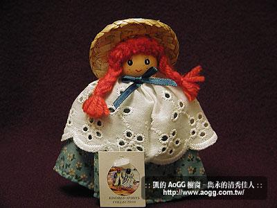 清秀佳人 4 吋木娃娃