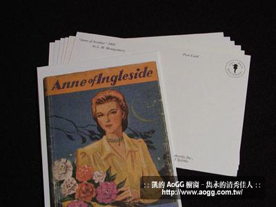 清秀佳人原著初版封面明信片組 (19張)