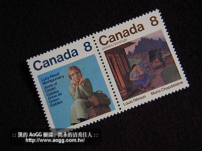 1975年清秀佳人限量郵票組